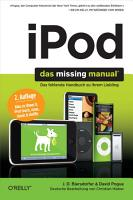 iPod  Das Missing Manual PDF