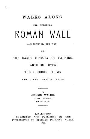 Walks Along the Northern Roman Wall