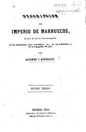 Descripcion del imperio de Marruecos, etc. With a map