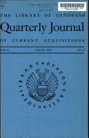 Quarterly Journal of Current Acquisitions PDF