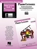 Piano Lessons Book 2 - GM Disk: Hal Leonard Student Piano Library