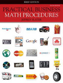 Loose Leaf Practical Business Math Procedures Brief w Bus Math Handbook  DVD V2  WSJ insert   Connect Plus PDF