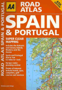 AA Road Atlas Spain & Portugal