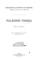 Palaeozoic Fossils: Volume 2, Part 1