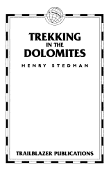 Trekking in the Dolomites PDF