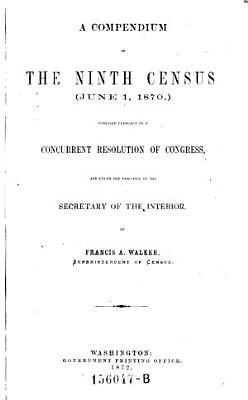 A Compendium of the Ninth Census  June 1 1870  PDF