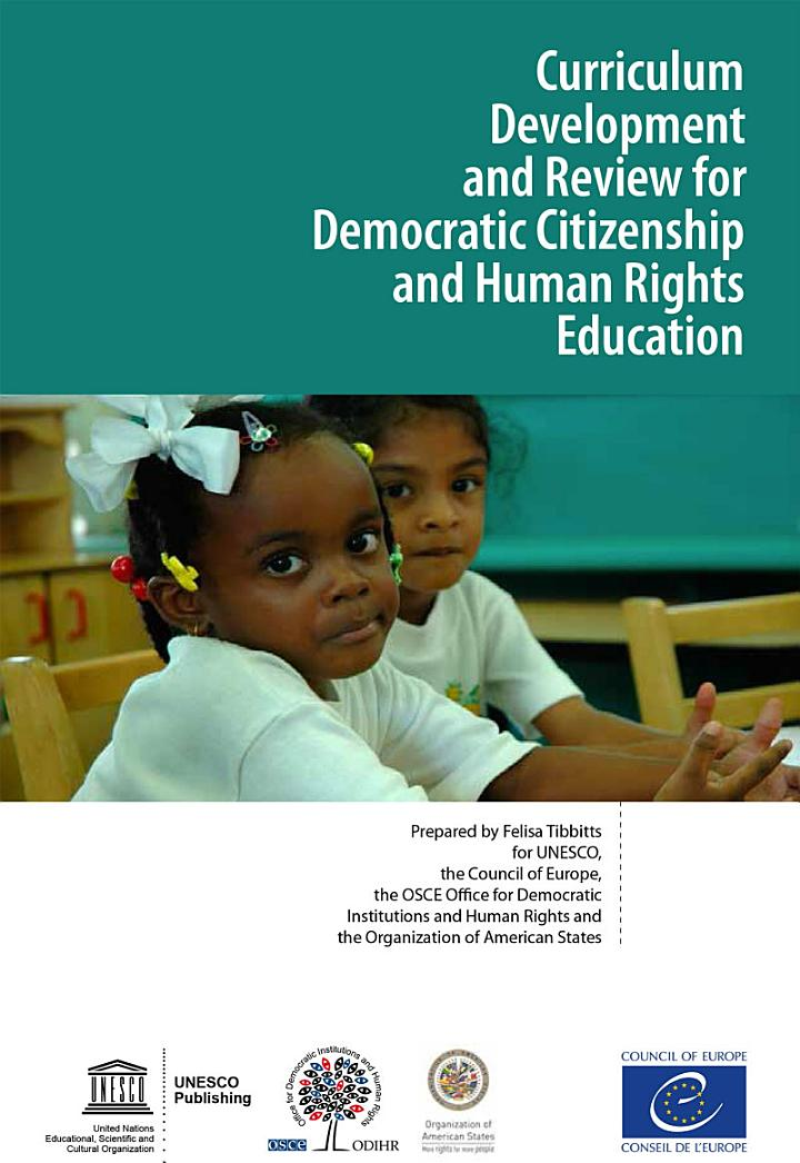 Curriculum Development and Review for Democratic Citizenship and Human Rights Education