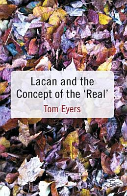 Lacan and the Concept of the  Real  PDF