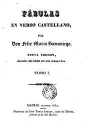 Fábulas en verso castellano: Volumen 3