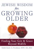 Jewish Wisdom for Growing Older PDF