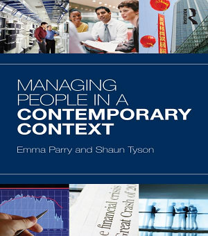 Managing People in a Contemporary Context PDF