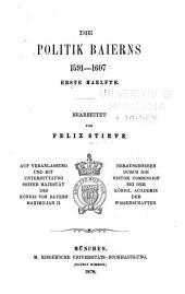Briefe und Acten zur Geschichte des Dreissigjährigen Krieges in den Zeiten des vorwaltenden Einflusses der Wittelsbacher: Band 4