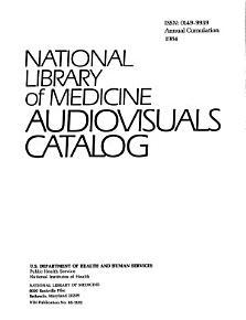 National Library of Medicine Audiovisuals Catalog PDF