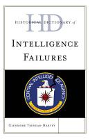 Historical Dictionary of Intelligence Failures PDF
