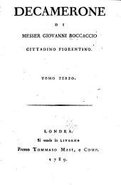 Decamerone di Messer Giovanni Boccaccio cittadino fiorentino ...