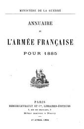 Annuaire officiel de l'armee francaise