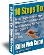 10 Steps to Killer Web Copy