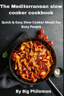 Mediterranean Slow Cooker Cookbook Book PDF