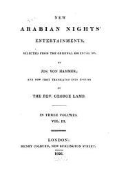 New Arabian Nights' Entertainments: Volume 3