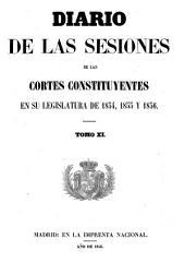 Diario de las sesiones de Cortes: Volumen 11