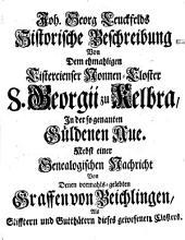 Historische Beschreibung, Von Dreyen in und bey der Güldenen-Aue gelegenen Örtern