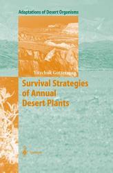 Survival Strategies of Annual Desert Plants PDF