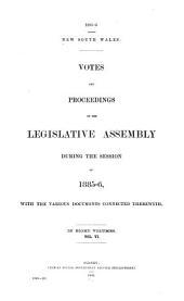Votes & Proceedings: Volume 6
