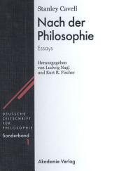 Nach der Philosophie: Essays