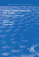 Turkey s Foreign Policy in the 21st Century PDF