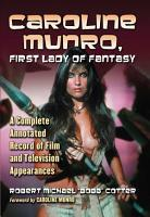 Caroline Munro  First Lady of Fantasy PDF
