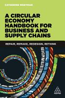 A Circular Economy Handbook for Business and Supply Chains PDF