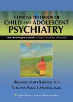 Kaplan and Sadock s Concise Textbook of Child and Adolescent Psychiatry PDF