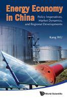 Energy Economy in China PDF