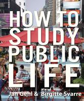 How to Study Public Life PDF