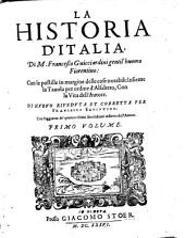 La historia d'Italia: Volume 1