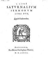 Saturnalium sermonum libri II, qui de gladiatoribus