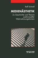 Medien  sthetik PDF