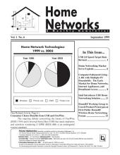 Home Networks Monthly Newsletter