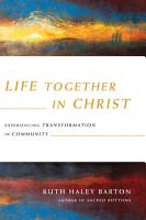 Life Together in Christ PDF
