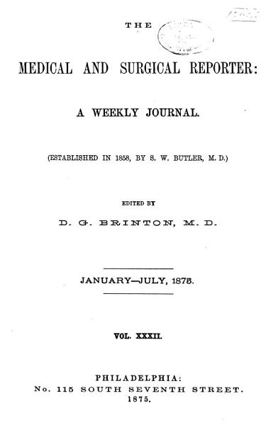 Download Medical and Surgical Reporter Book