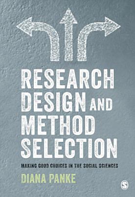 Research Design   Method Selection PDF