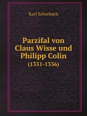Parzifal von Claus Wisse und Philipp Colin