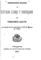 Constitución política del estado libre...