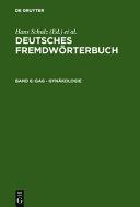 Deutsches Fremdw Rterbuch