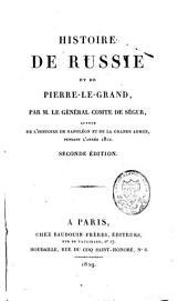 Histoire de Russie et de Pierre-le-Grand: Volume1