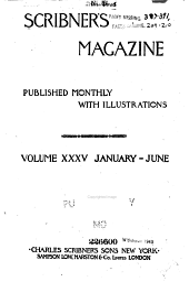 Scribner's Magazine: Volume 35