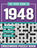 You Were Born In 1948 Crossword Puzzle Book