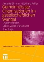 Gemeinn  tzige Organisationen im gesellschaftlichen Wandel PDF