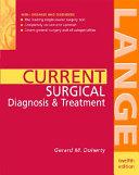 Current Surgical Diagnosis & Treatment