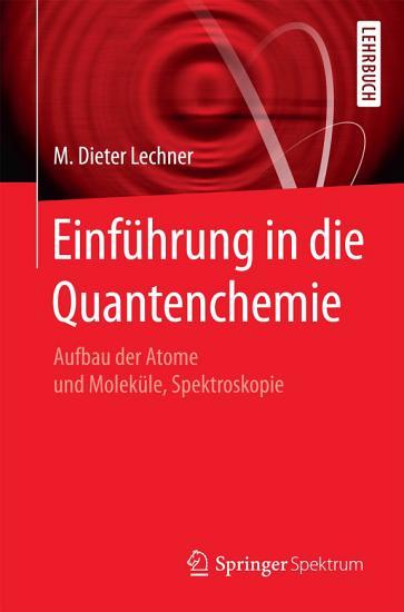 Einf  hrung in die Quantenchemie PDF